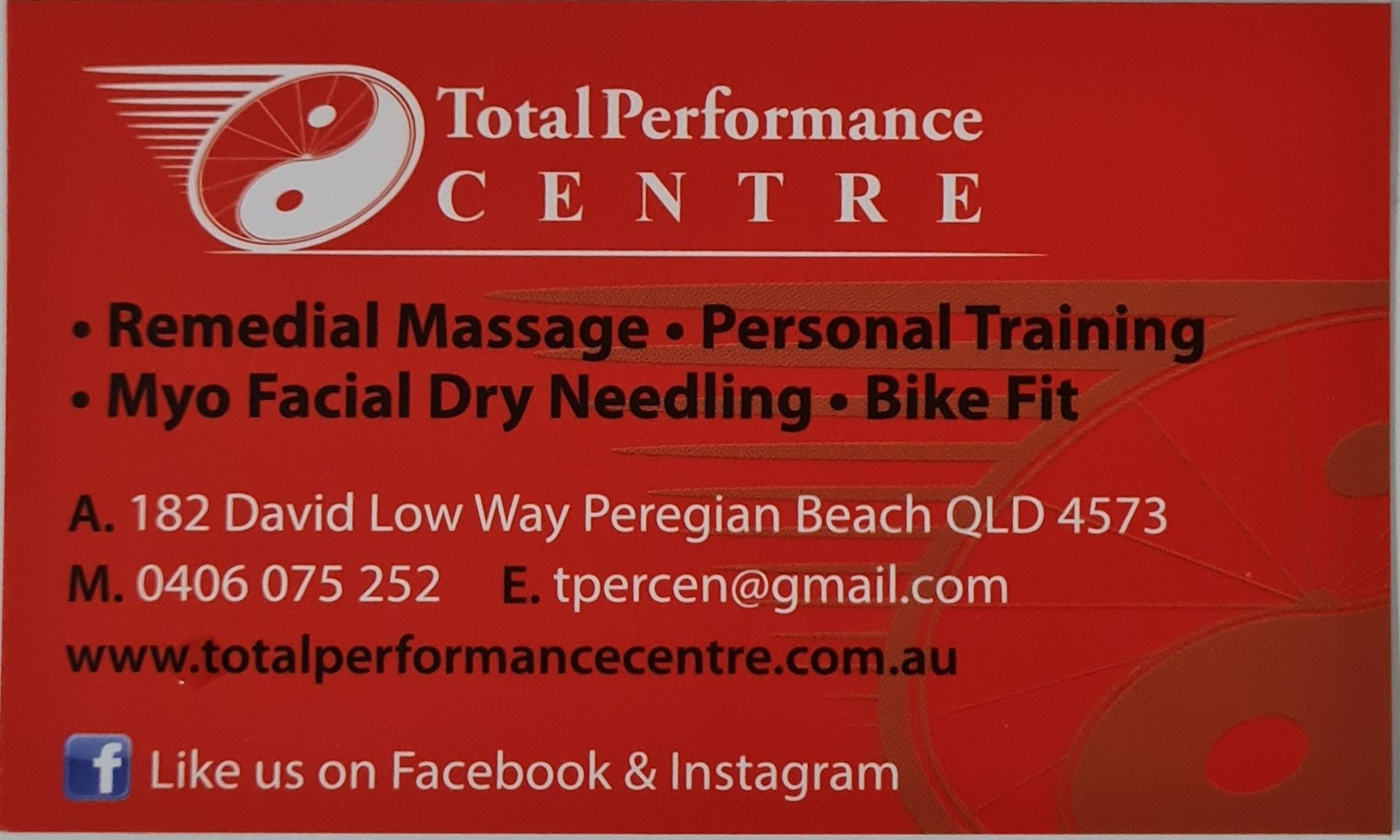 Total Performance Centre